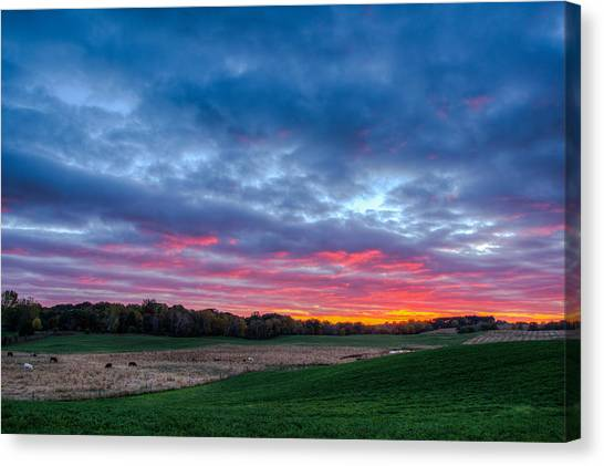 God's Grandeur Canvas Print