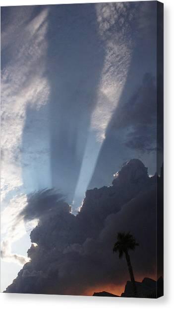 God's Hand Canvas Print