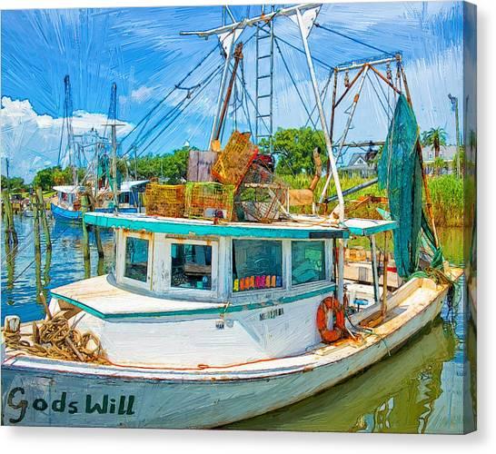 God's Will Canvas Print