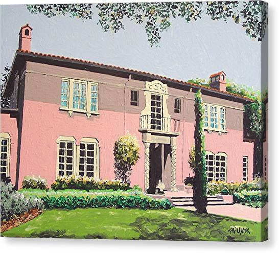 Goethe House Canvas Print by Paul Guyer