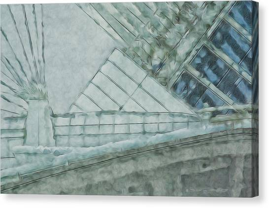 Pre-modern Art Canvas Print - Going Calatrava by Jack Zulli