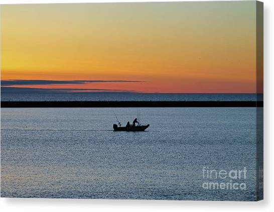 Going Fishing 2 Canvas Print by Eric Curtin