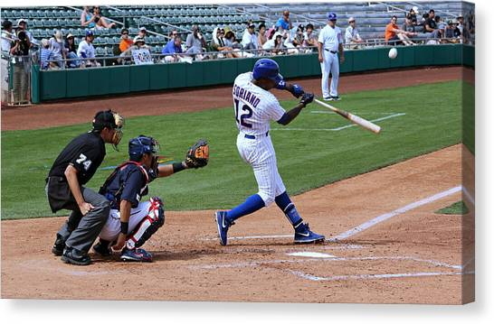 Home Runs Canvas Print - Going Going Gone by Stephen Stookey