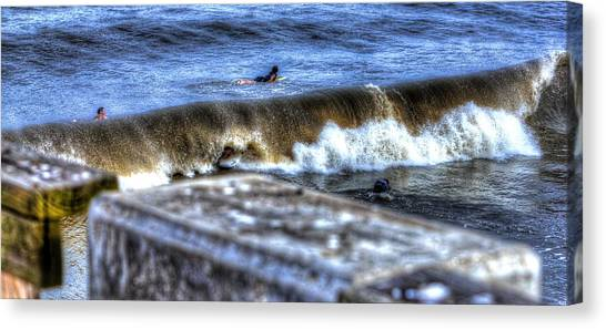 Going Going Gone Canvas Print