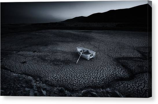 Global Warming Canvas Print - Going Nowhere by Newzealand1