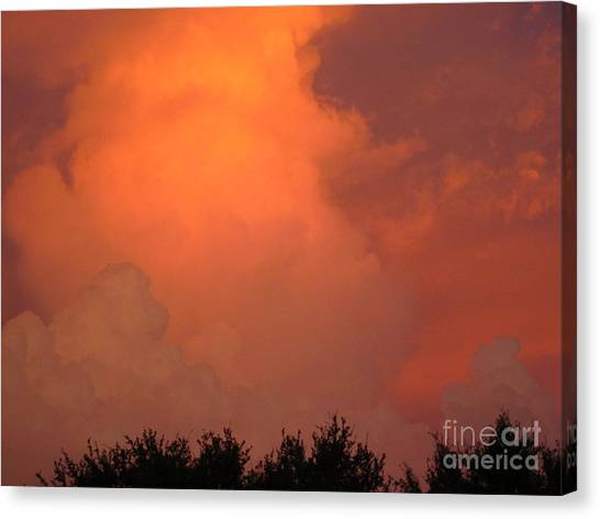 Going Out With A Boom Canvas Print
