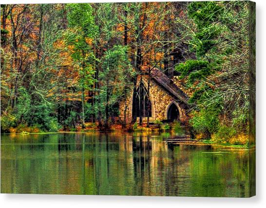Going To The Chapel  Canvas Print