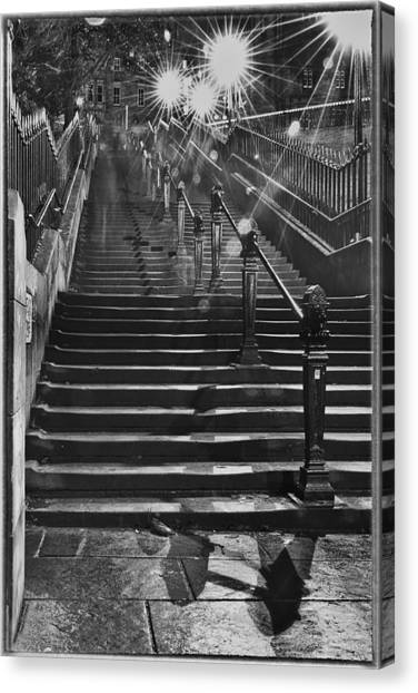 Going Up Canvas Print