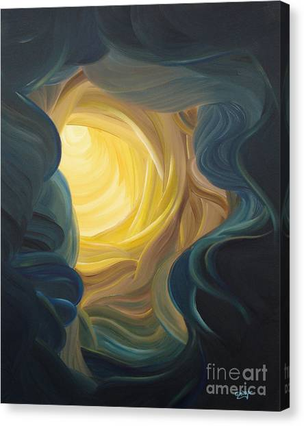 Gnosis Canvas Print - Going Within by Ginny Gaura
