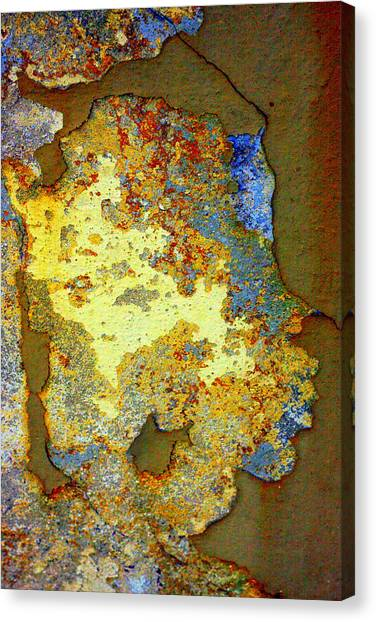 Diamond Dust Canvas Print - Gold Is Beautiful by Marcia Lee Jones