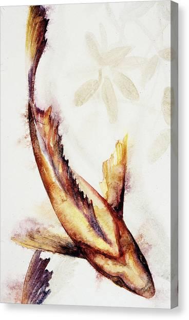 Gold Mangrove  Canvas Print