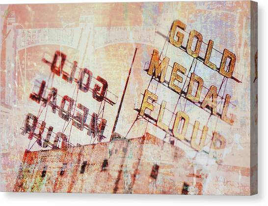 Gold Medal Flour  Canvas Print