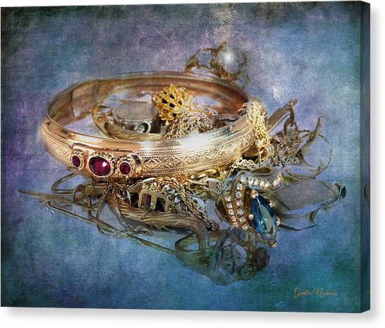 Gold Treasure Canvas Print