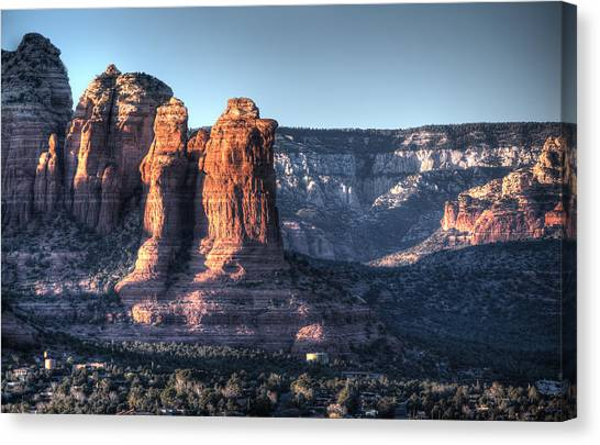 Golden Buttes Canvas Print