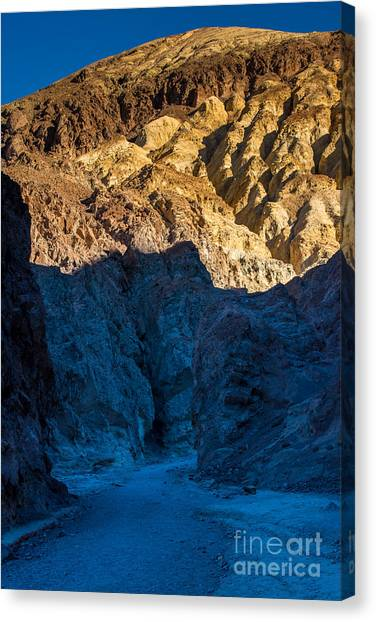 R2-d2 Canvas Print - Golden Canyon Sunrise - Death Valley - California by Gary Whitton
