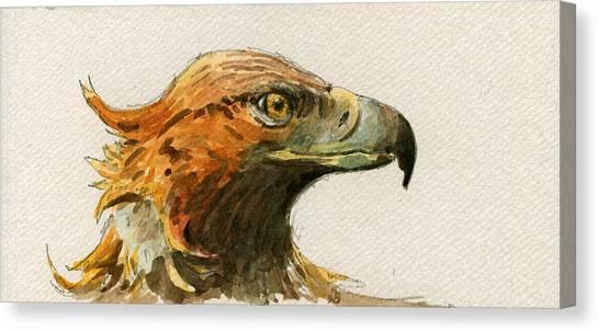 Mice Canvas Print - Golden Eagle by Juan  Bosco