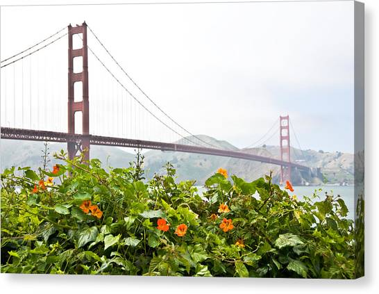 Golden Gate Bridge 2 Canvas Print