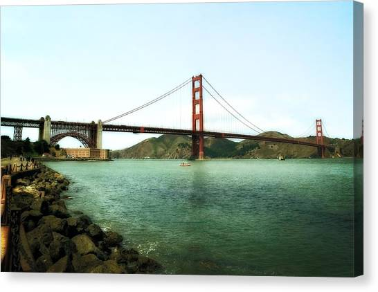 Golden Gate Bridge 2.0 Canvas Print