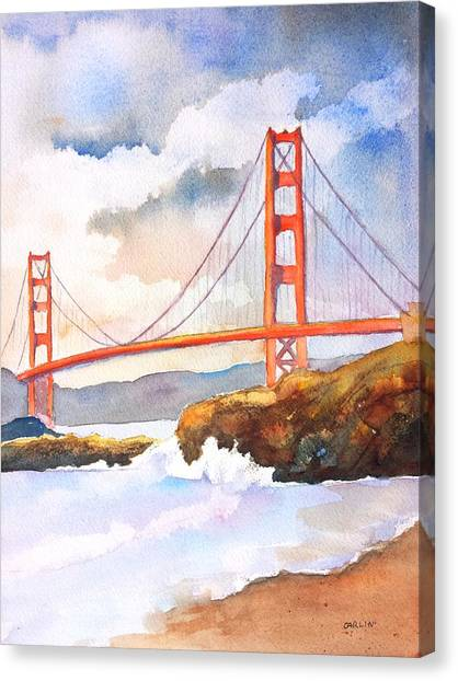 Golden Gate Bridge 4 Canvas Print