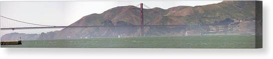 Golden Gate Bridge Panorama Canvas Print