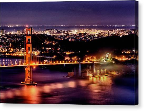 Golden Gate Bridge Canvas Print by Robert Rus