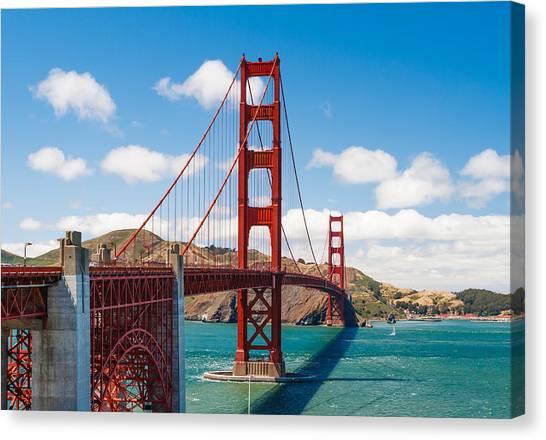 Marin Canvas Print - Golden Gate Bridge by Sarit Sotangkur