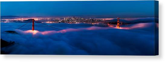 Golden Gate Bridge, San Francisco Canvas Print