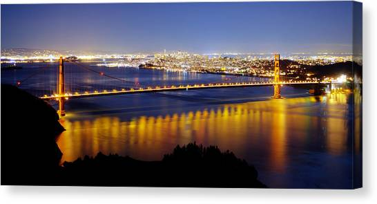 Golden Gate Canvas Print