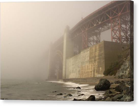 Golden Gate Superfog Canvas Print