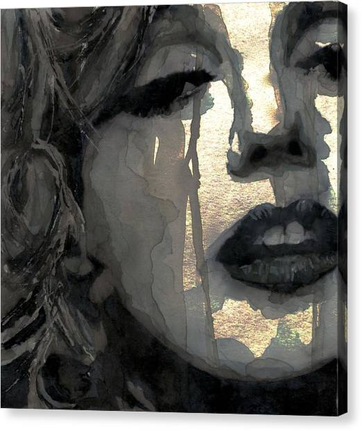 Hollywood Canvas Print - Golden Goddess by Paul Lovering