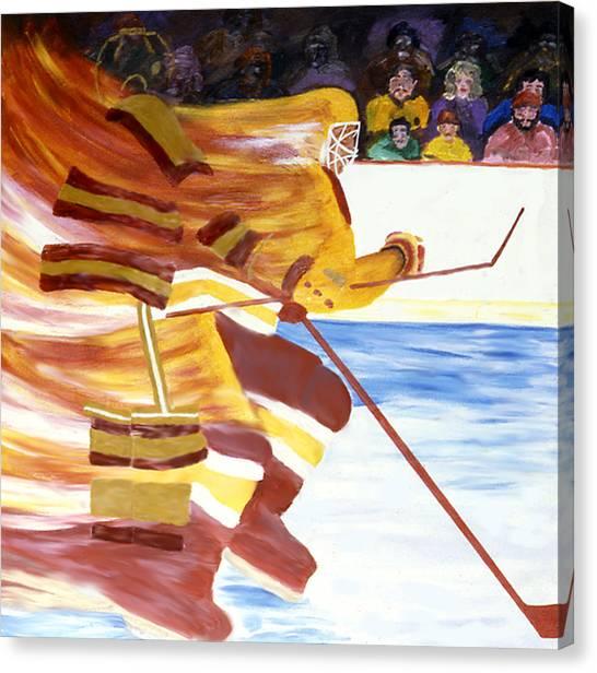 Golden Gophers Canvas Print by Ken Yackel