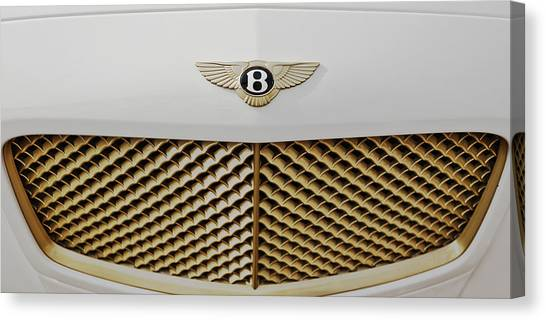 Golden Grill Bentley Canvas Print