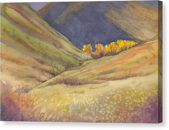 Golden Grove Canvas Print