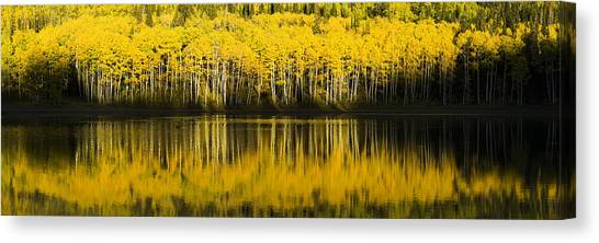 Utah Canvas Print - Golden Lake by Chad Dutson