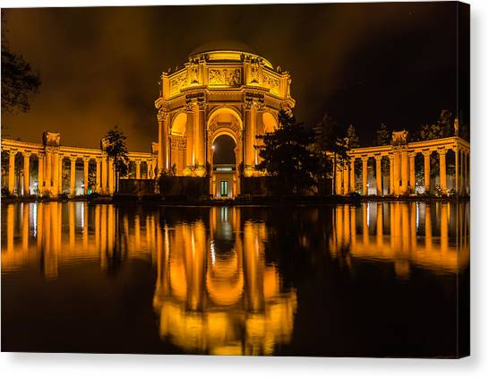 Golden Palace Canvas Print