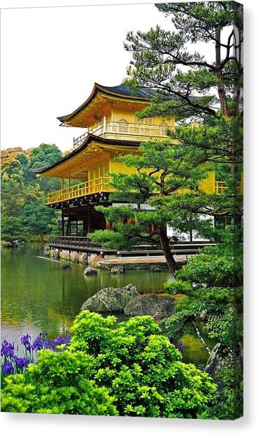 Golden Pavilion - Kyoto Canvas Print