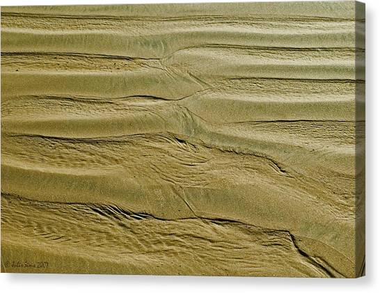 Golden Sand 5 Canvas Print
