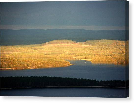 Golden Shores Canvas Print