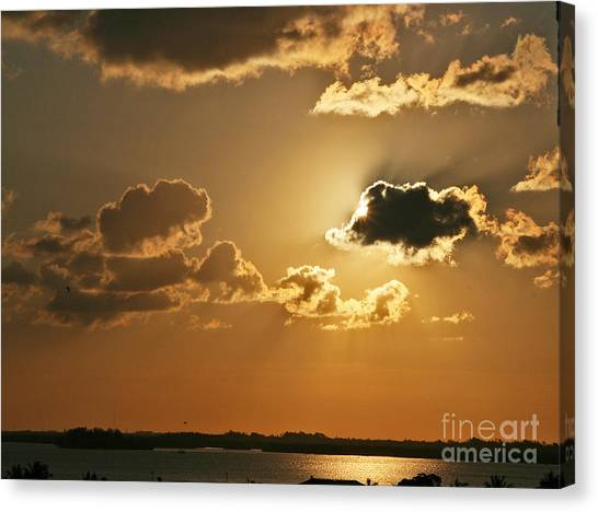 Golden Sunrise Canvas Print