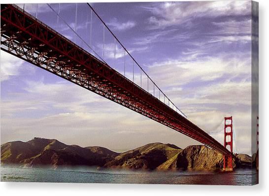 Goldengate Bridge San Francisco Canvas Print