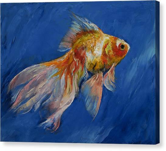 Goldfish Canvas Print - Goldfish by Michael Creese
