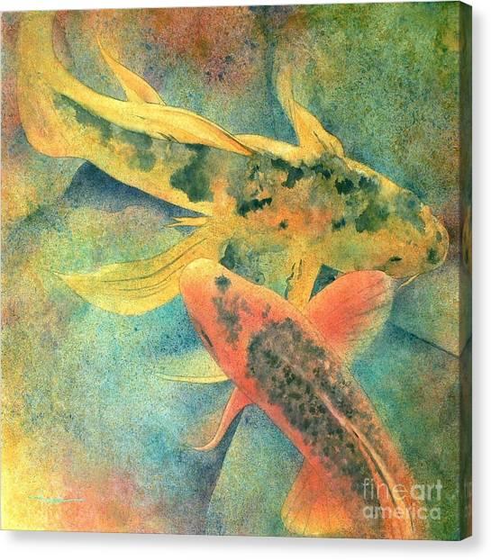 Koi Canvas Print - Goldfish by Robert Hooper