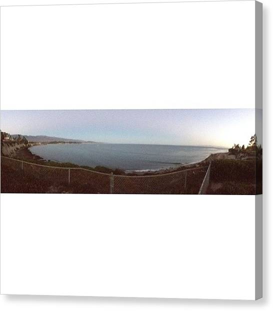 Ucsb Canvas Print - Goleta Beach Bluffs by Mckenzie Kane