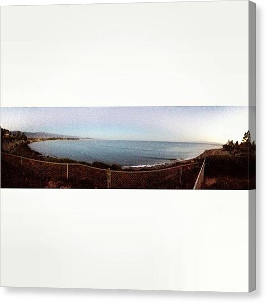 Ucsb Canvas Print - Goleta Beach by Mckenzie Kane