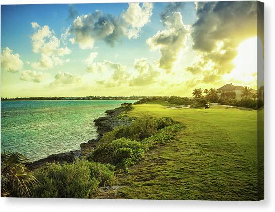 Golf Course Canvas Print