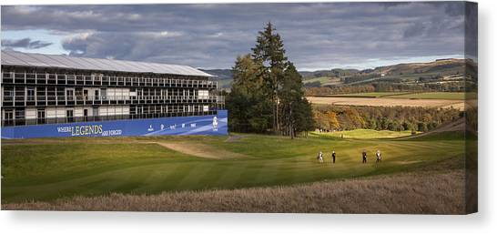 Golf Gleneagles 2014 Canvas Print