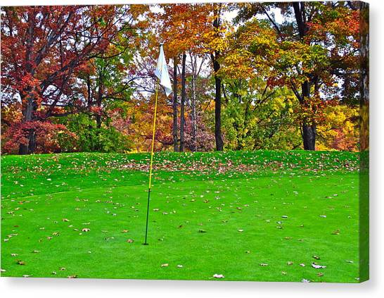 Jack Nicklaus Canvas Print - Golf My Way by Frozen in Time Fine Art Photography