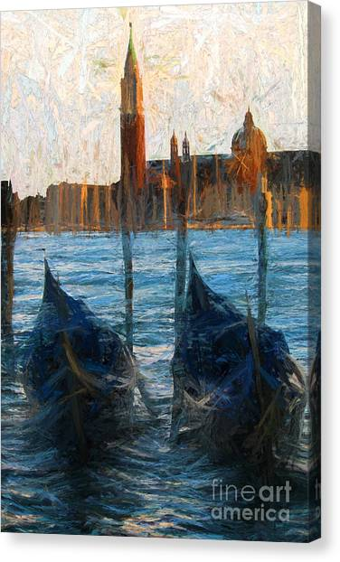 Gondole Canvas Print
