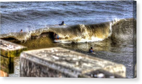 Gone In Seconds Canvas Print