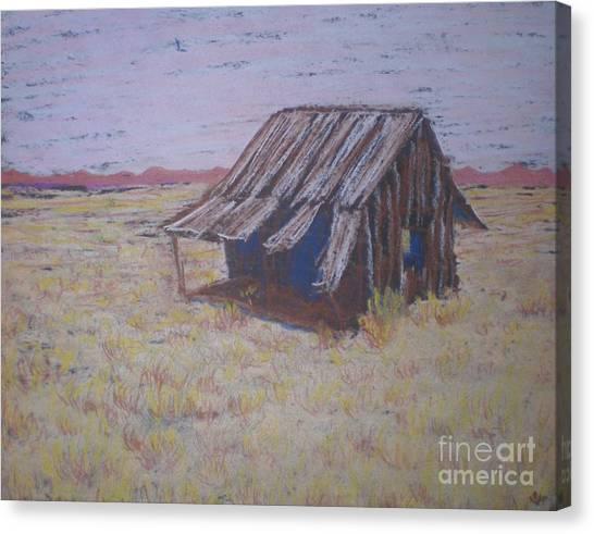 Gone North Canvas Print